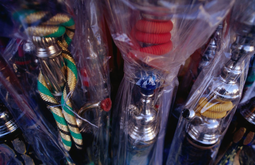 Hooker pipes for sale at spice suq.