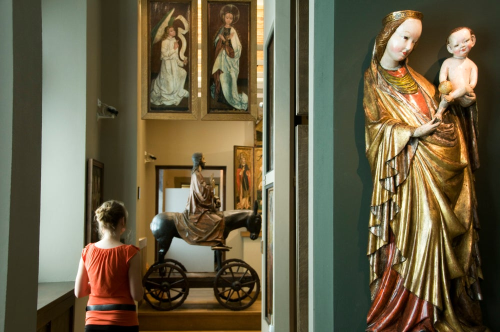 Exhibition of Art of Old Poland in the Bishop Erazm Ciolek Palace, a branch of the National Museum in Krakow, ul Kanonicza 17, Old Town.