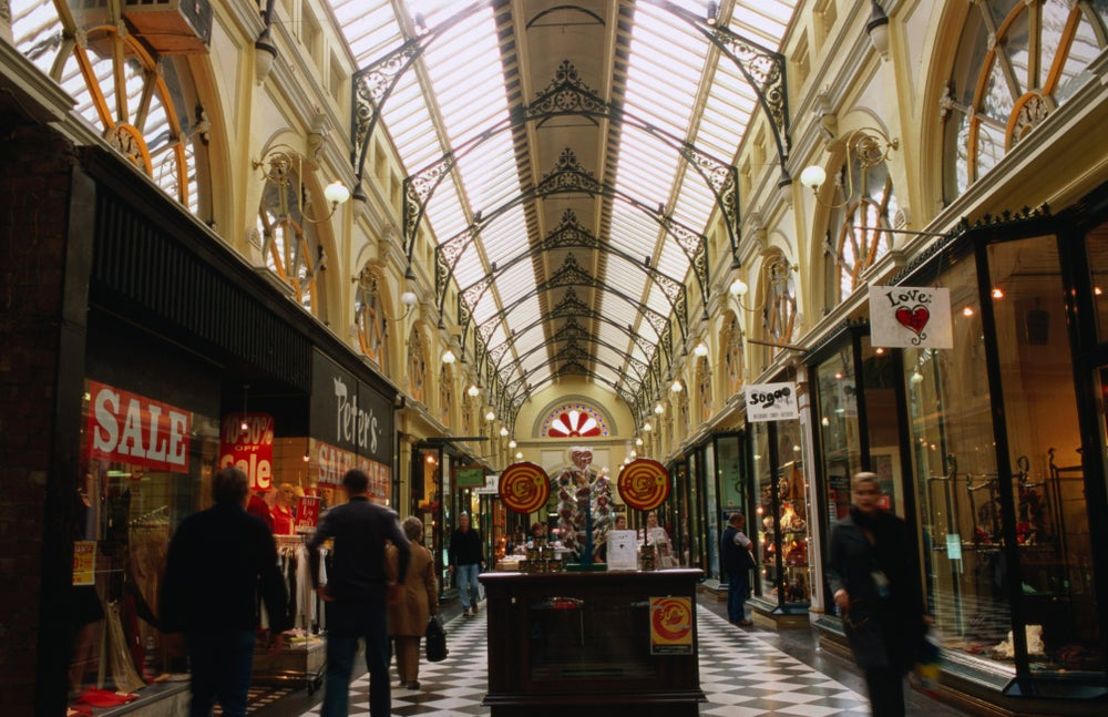 Royal Arcade, CBD.