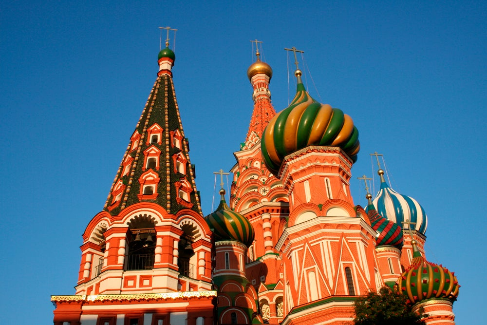 Detail of St Basil's Cathedral.