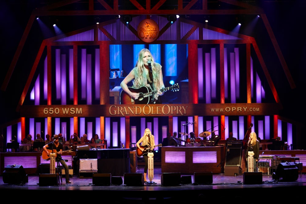 Concert at Grand Ole Opry.