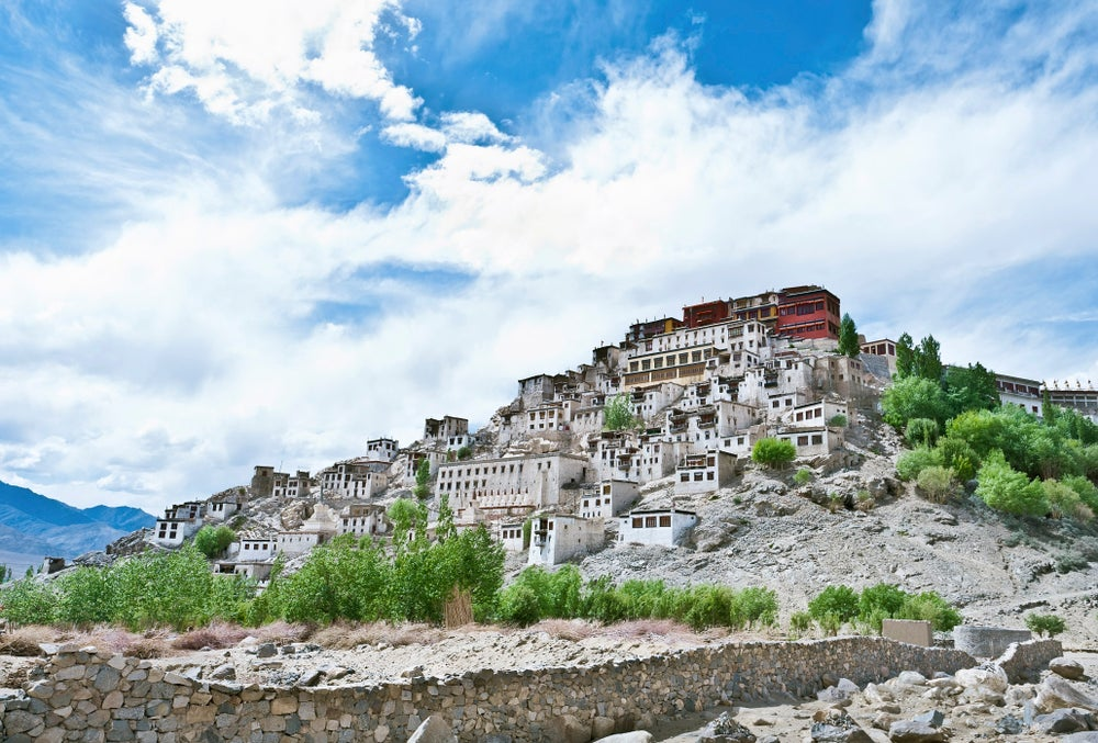 Thikse Monastery.
