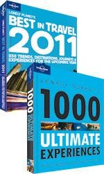 Lonely Planet's Best in Travel 2011 & Lonely Planet's 1000 Ultimate Experiences guidebook pack
