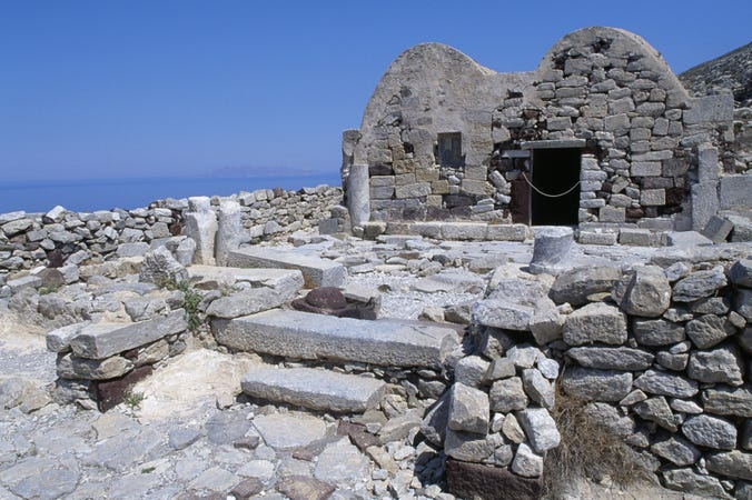 Ancient Thira - Lonely Planet