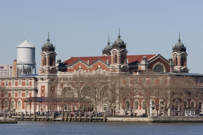 Ellis Island and the Immigration Museum, New York City, USA