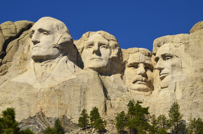 Mount Rushmore National Memorial, Black Hills, USA