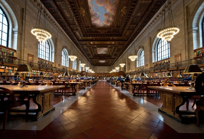 New York Public Library, New York City, USA