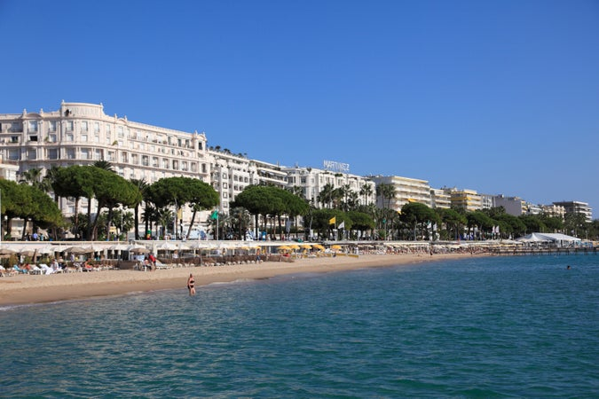 La Croisette in Cannes, Cannes, France
