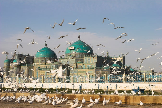 Shrine of Hazrat Ali, Mazar-e Sharif, Afghanistan