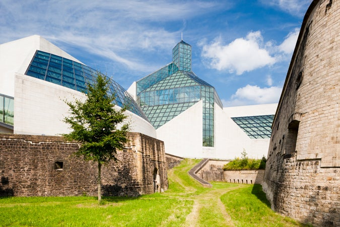 Luxembourg's Mudam, Luxembourg City, Luxembourg