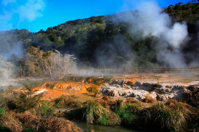 Waimangu Volcanic Valley, Around Rotorua, New Zealand