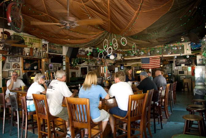 The Green Parrot Bar, Key West, USA