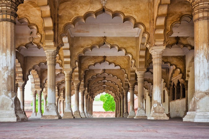 Hall of Public Audiences, Agra Fort, Agra, Agra, India