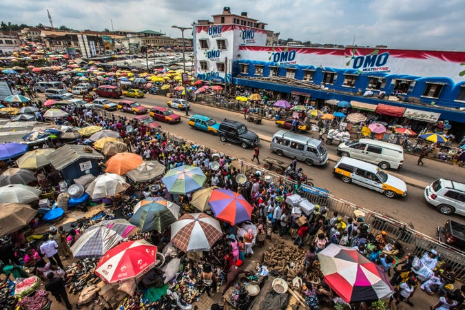 kejetia market, things to do in Kumasi, Ashanti region, Ghana