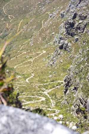 Table Mountain Trail, Cape Town, South Africa