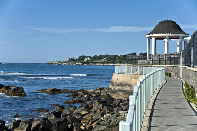 Cliff Walk, Newport, USA