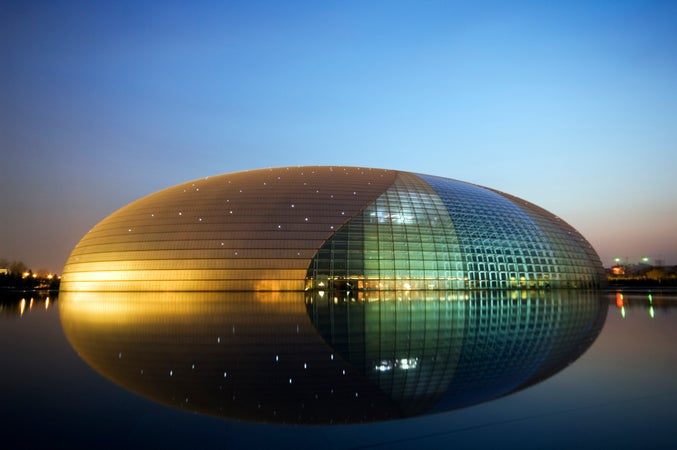 National Centre for the Performing Arts in Beijing, Běijīng, China