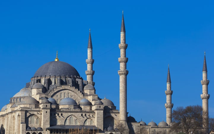 Suleymaniye Mosque Facts images