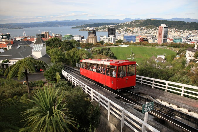 Wellington's Cable Car & Museum, Wellington, New Zealand