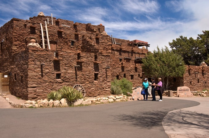 Hopi House at Grand Canyon Village, Grand Canyon National Park (South Rim), USA