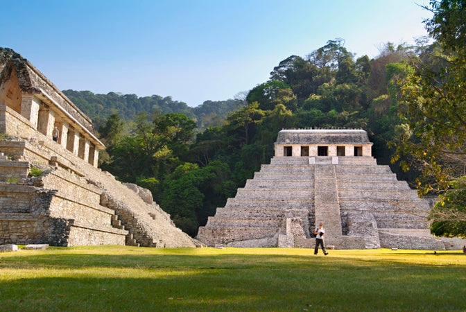 Temple of the Inscriptions in Palenque, Palenque, Mexico