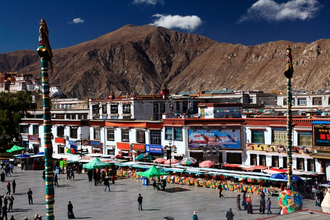Barkhor Square, Lhasa, China