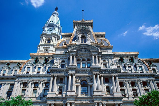 Philadelphia City Hall, Philadelphia, USA