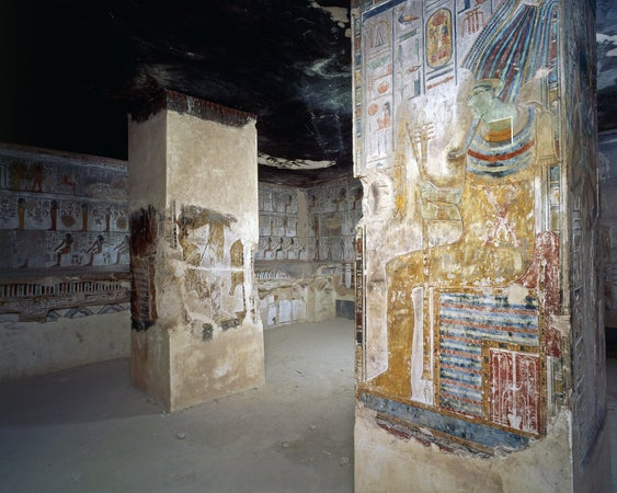 Tomb of Seti I in the Valley of the Kings, Luxor, Egypt