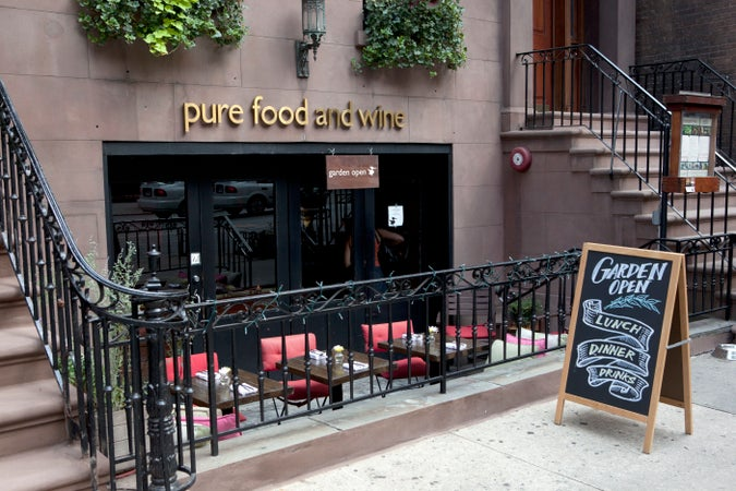 Pure Food and Wine, Union Square, New York City, USA