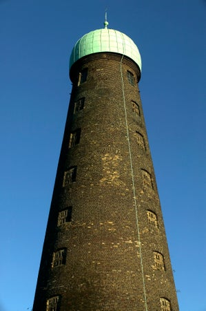 St. Patrick's Tower, old windmill at Guinness Brewery, Dublin, Ireland