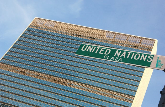 United Nations Building, Upper East Side, New York City, USA