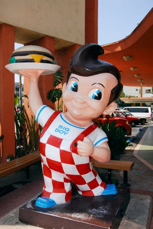 Bob's Big Boy hamburgers, Burbank, Los Angeles, USA