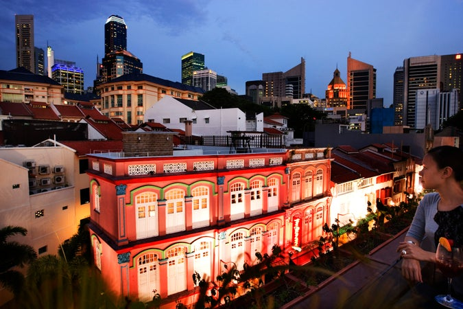 Screening Room rooftop, Chinatown, Singapore