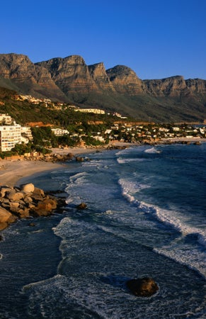 Beach at Clifton, Cape Town, South Africa