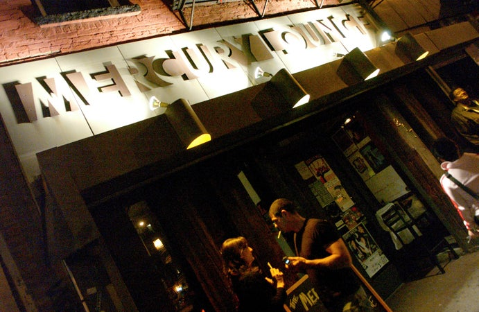 Mercury Lounge, East Village, New York City, USA