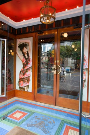 Shanghai Tang clothing in French Concession, Shànghǎi, China