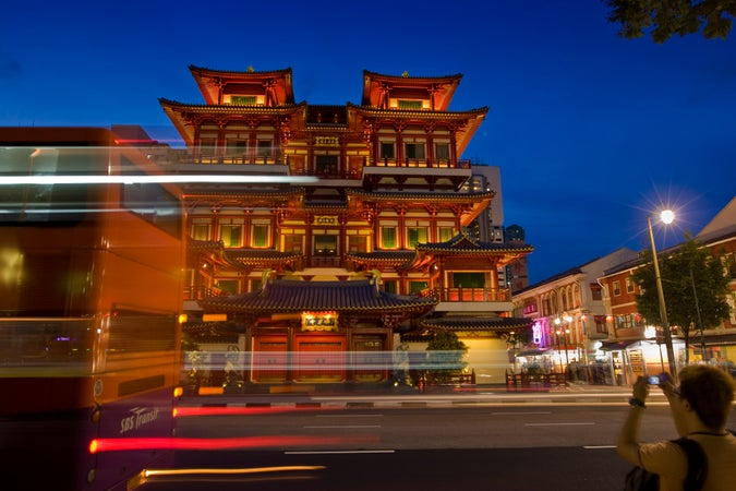 Buddha Tooth Relic Temple, Chinatown, Singapore
