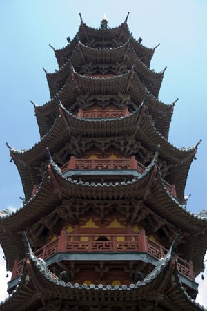Longhua Pagoda, South Shanghai, Shànghǎi, China