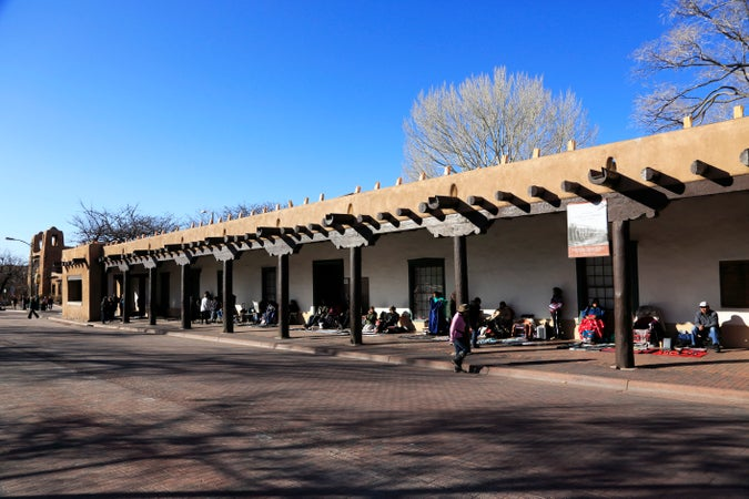 Palace of the Governors, Santa Fe, USA