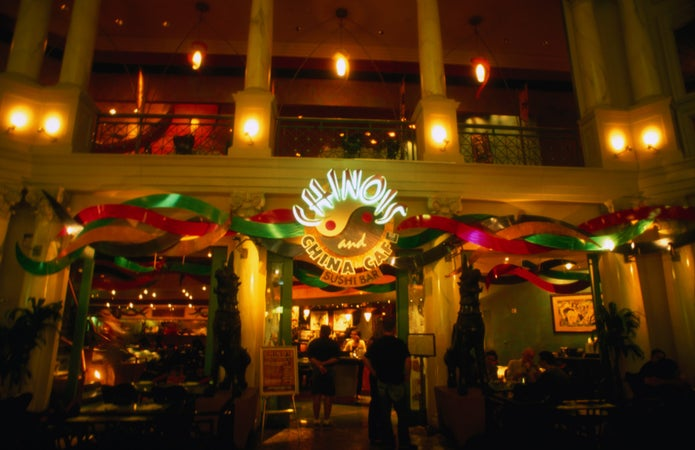 Chinois at the Stratosphere Hotel and Casino in Las Vegas, Las Vegas, USA