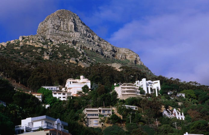 Houses in Lion's Head, Table Mountain, Cape Town, South Africa