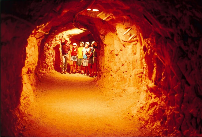 Inside Battery Hill Mine, Tennant Creek, Australia
