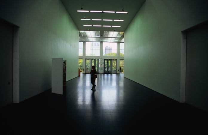 Museum of Contemporary Art interior. , Chicago, USA
