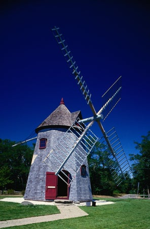 The Capes oldest windmill - Eastham, Cape Cod, Massachusetts, Eastham, USA