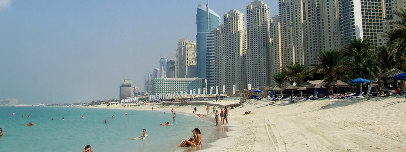 Jumeirah Beach, Sheraton. Photo: Michael Gaylard