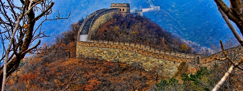 Great Wall of China, Mutianyu Section by Francisco Diez