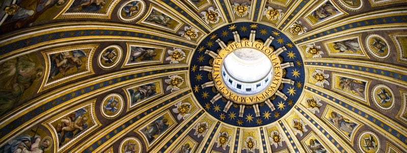 St Peter's Basilica Dome by Dan Foy