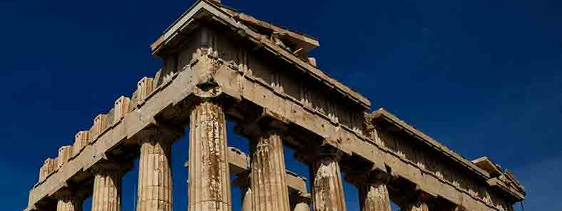 Parthenon in Athens by Andrew Baldwin
