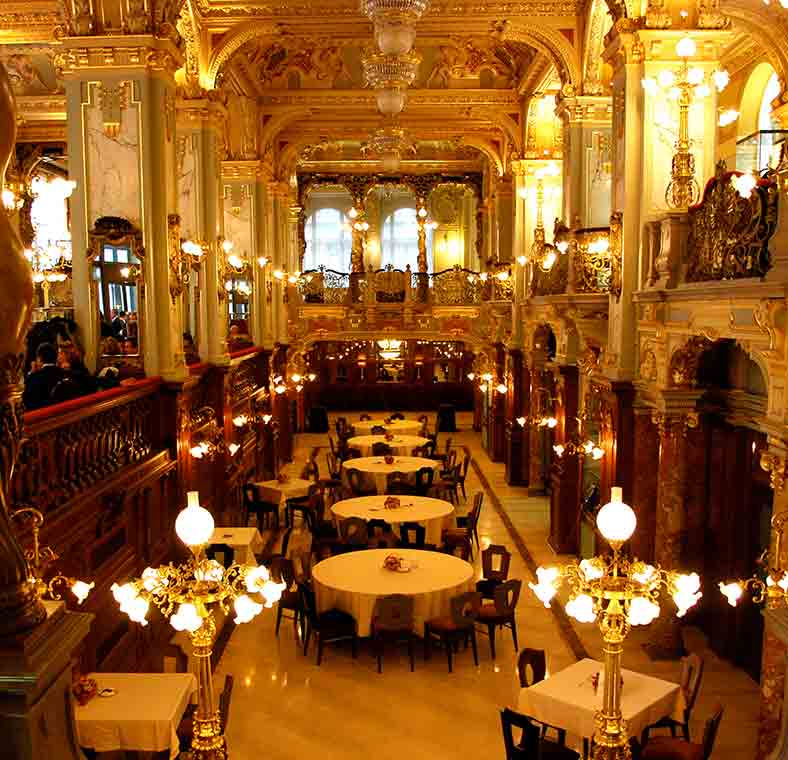 Bars And Coffee Houses Of Budapest