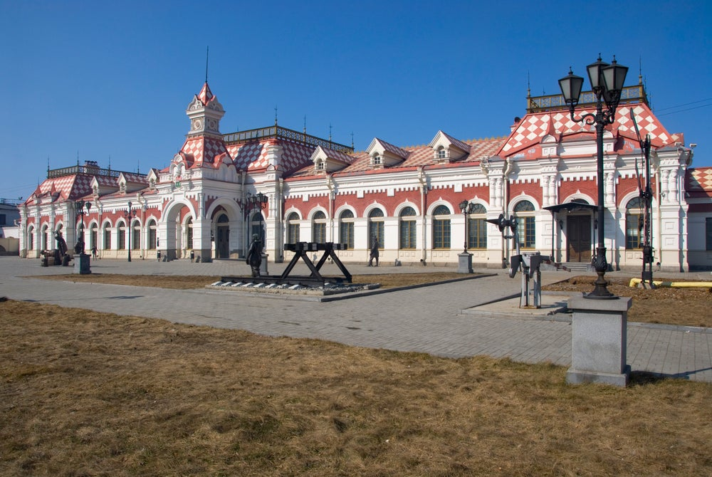 Railway Museum at Yekaterinburg.